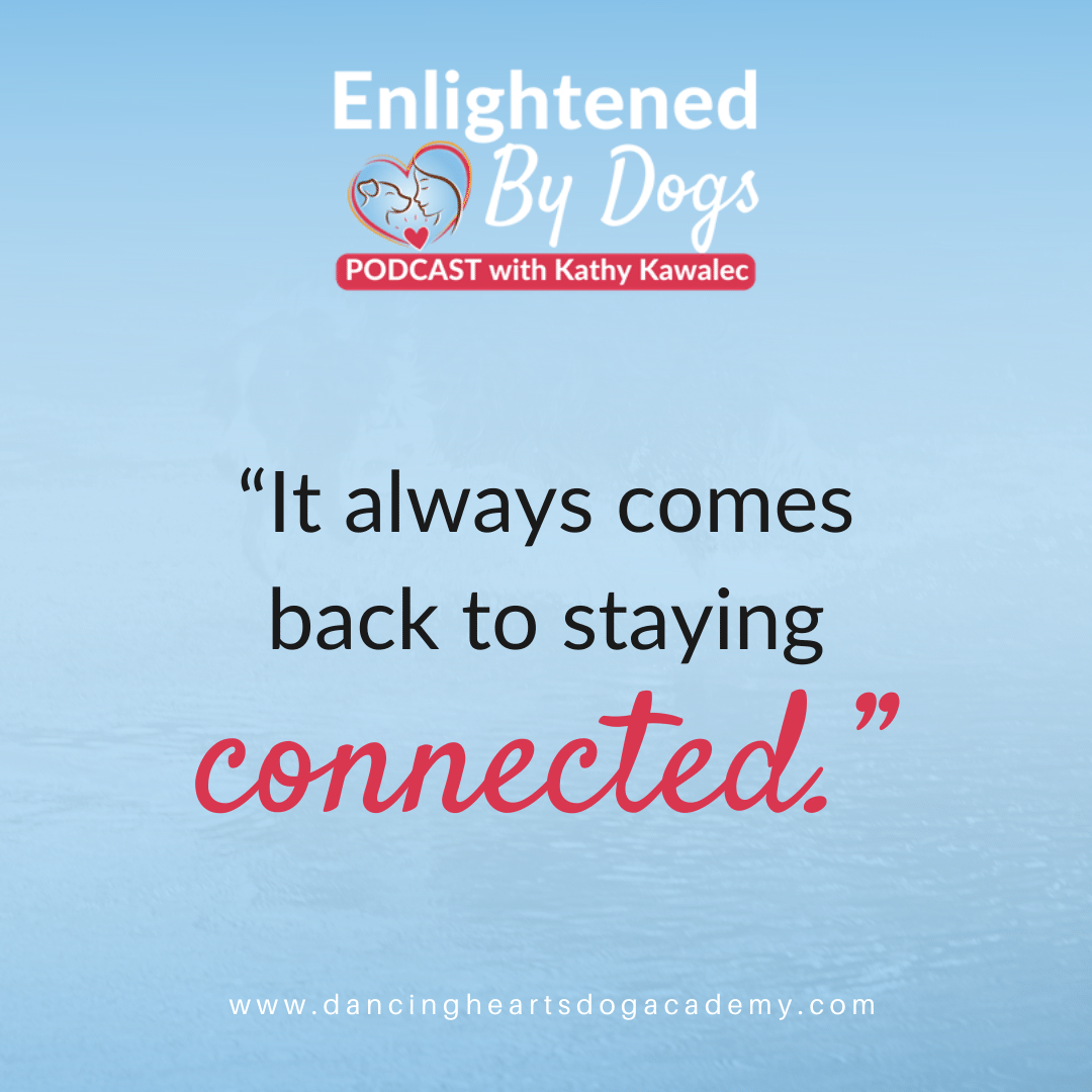 """""""It always comes back to staying connected."""""""